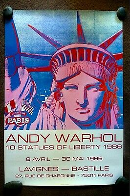 """Andy Warhol's """"10 Statues of Liberty"""""""