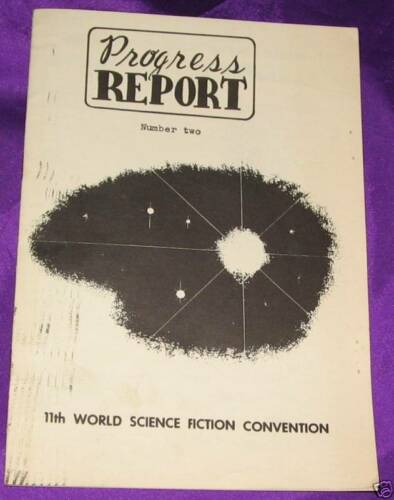 1953 World Science Fiction Convention Progress Report March 1, 1953 Number Two