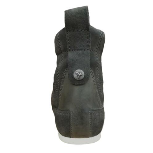 Henleys Men/'s Smokie Suede Leather Casual Boots Charcoal