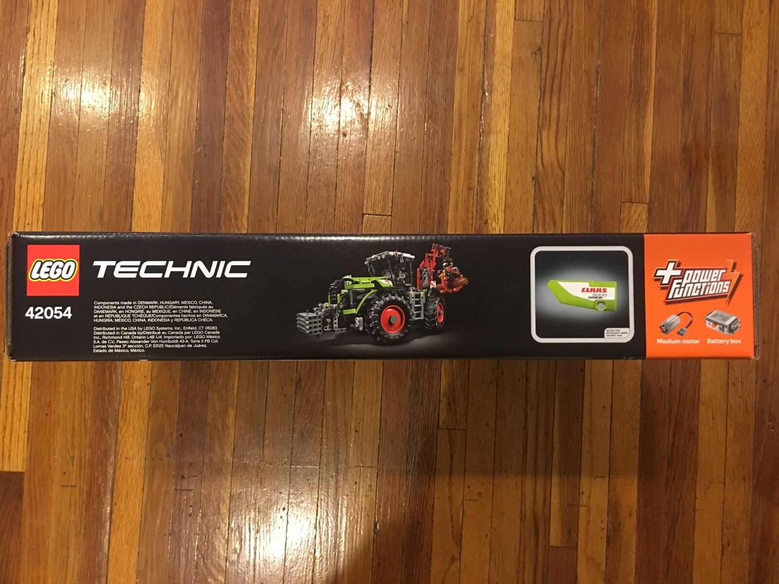NEW LEGO 5000 TECHNIC CLAAS XERION 5000 LEGO TRAC VC (42054). 456a25