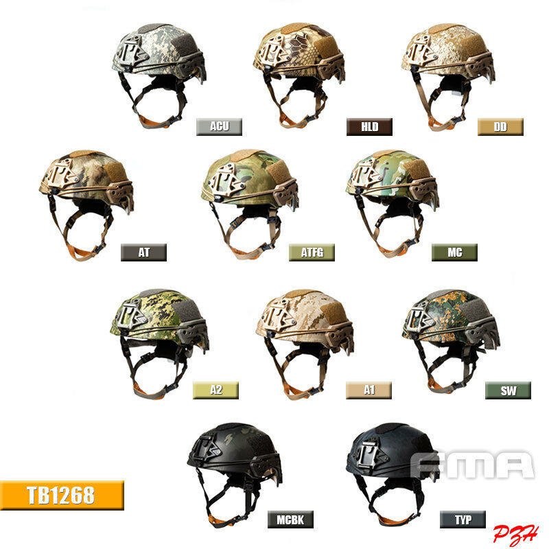 FMA EX Ballistic helmet TB1268 NEW TWF Full Predection Version