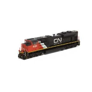 HO-Scale-Athearn-Genesis-68893-SD70ACe-Canadian-National-8102-w-SOUND-amp-DCC