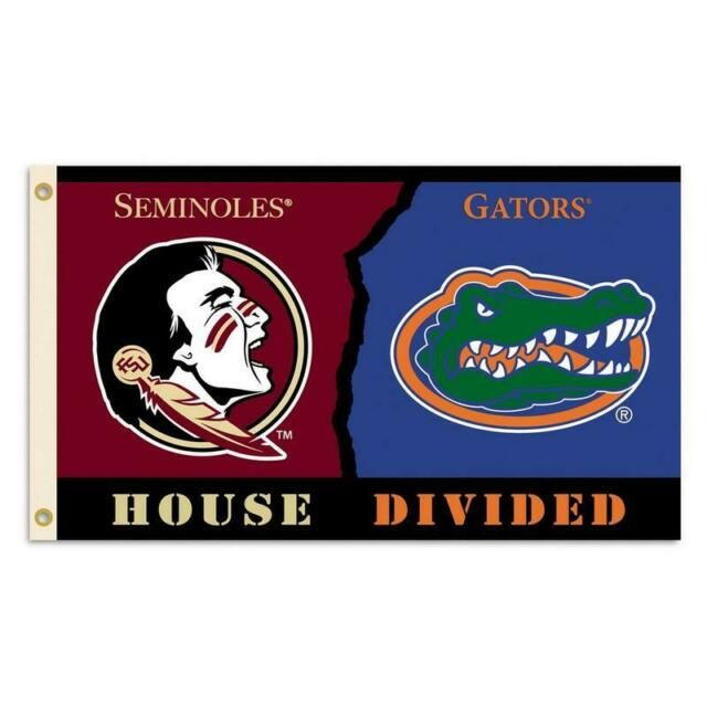 NCAA  3 X 5 Rivalry House Divided Flag with  Grommets