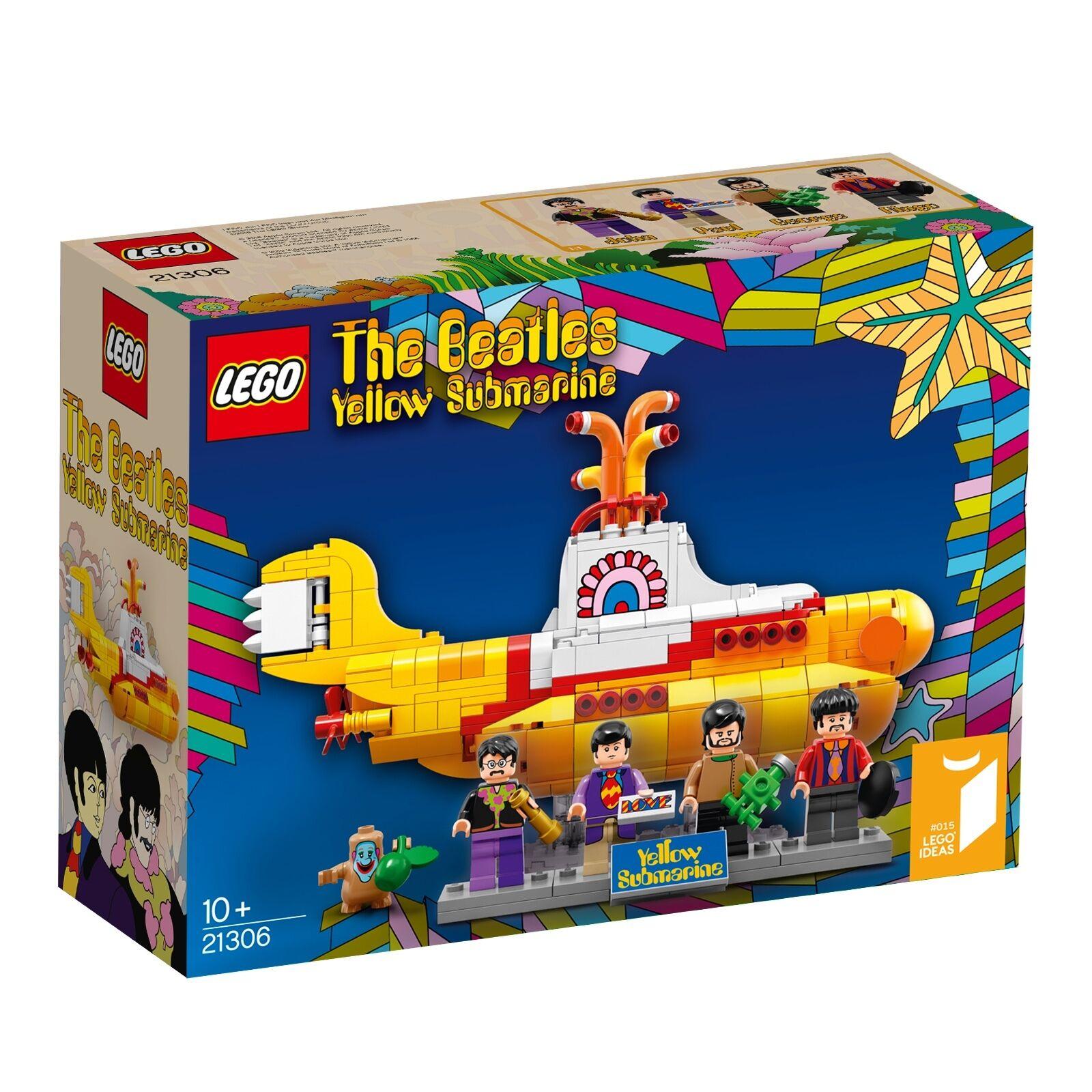LEGO® Ideas 21306 Yellow Submarine NEU _NEW _Submarino yellow NUEVO