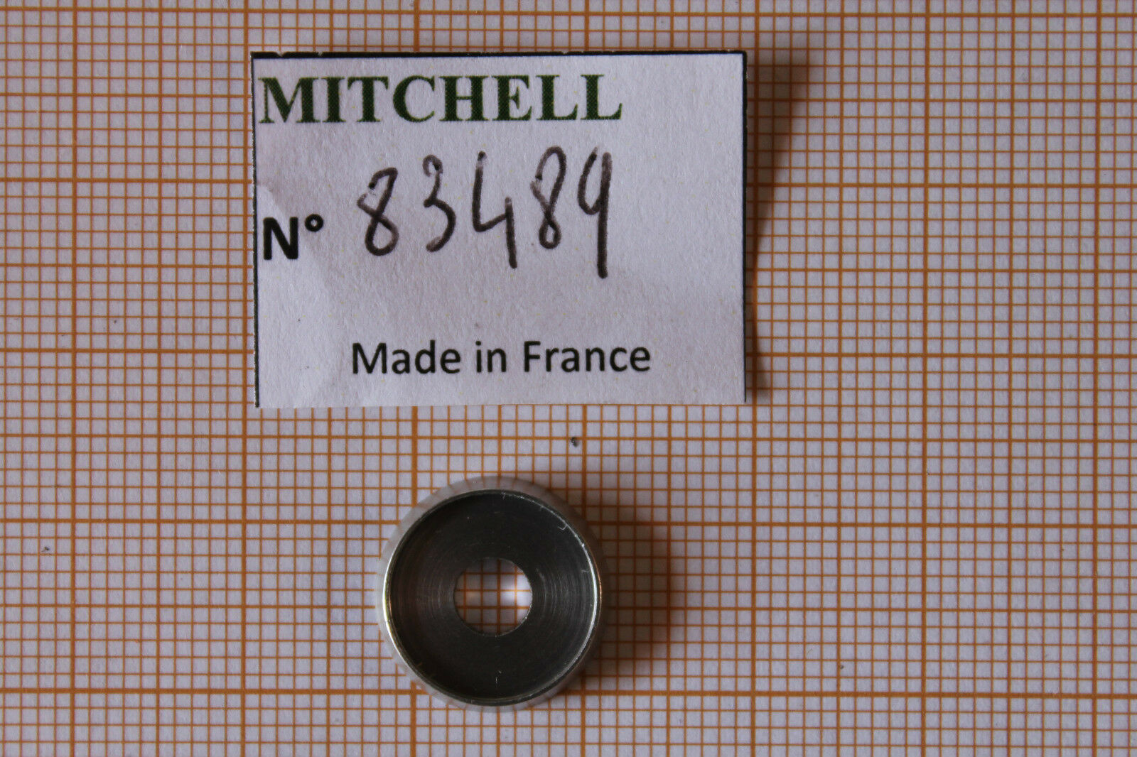 24 BRASS LINE GUIDE REEL PART 83489 CUVETTE GALET 498 & & 498 autre MOULINETS MITCHELL 498c96