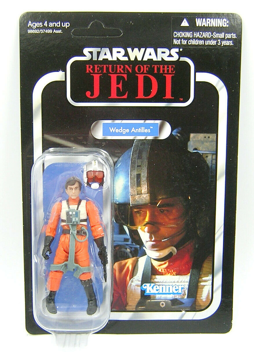 Star Wars Vintage Collection VC28 Wedge Antilles Unpunched