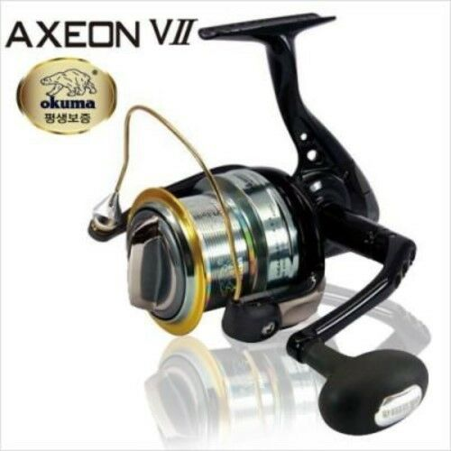 OKUMA-AXEON VⅡ Surf Casting 4BB Spinning Fishing  Reel (FREE-SHIPPING EVENT Now )  welcome to buy