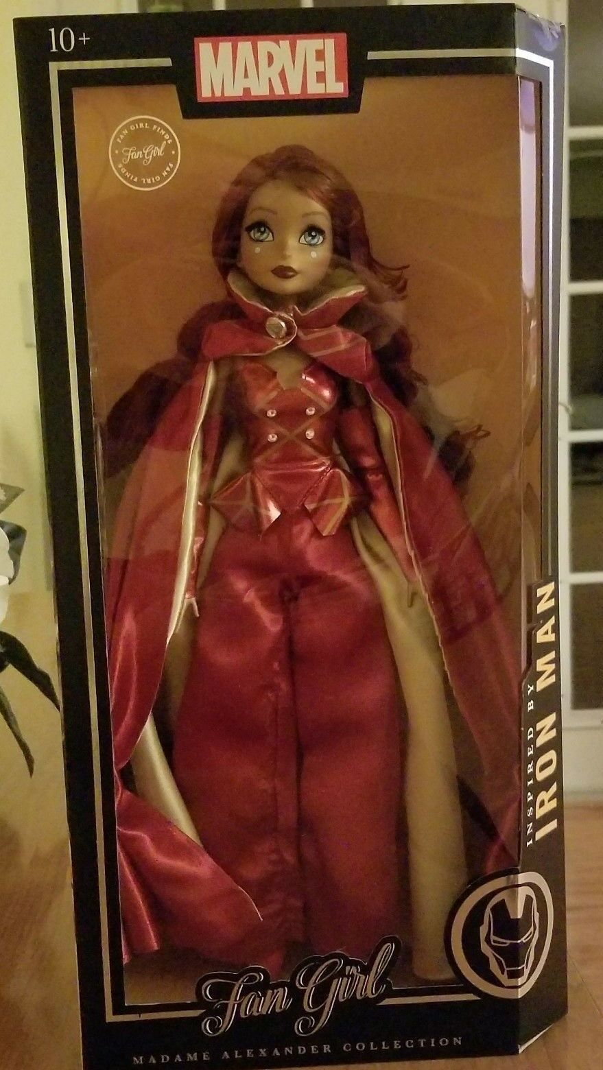 Madame Alexander Marvel Fan Girl  Rare Ironman Variant Doll