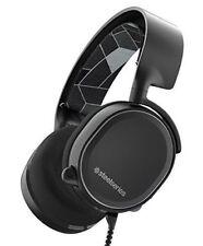 SEHR GUT SteelSeries Arctis 3 Headset ohne USB-Kabel + 3,5mm Kabel + Transmitter