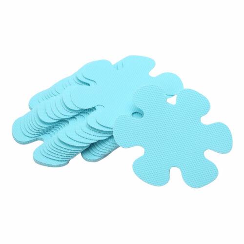 """20 Flower Safety Treads Non-Slip Applique Stickers Mat Bath Strips Tub/&Shower 4/"""""""