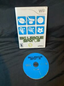 Nintendo Wii: Big League Sports Clean, Tested Free Shipping, B2G1 Free