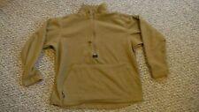 Medium USMC Polartec 100 Fleece Pullover Jacket Coyote Brown (Defect)