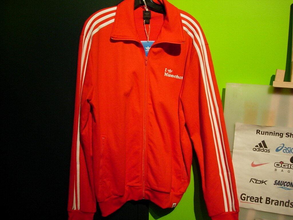 Adidas Germany Munich Jacket Jacket Jacket Uomo XL rosso bianca ( I adidas munich) 2a4af4