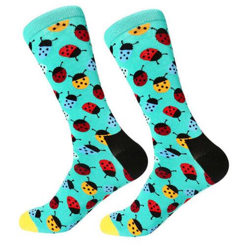 Mens Combed Cotton Socks Funny Cartoon Animal Novelty Fancy Dress Sox For Gift