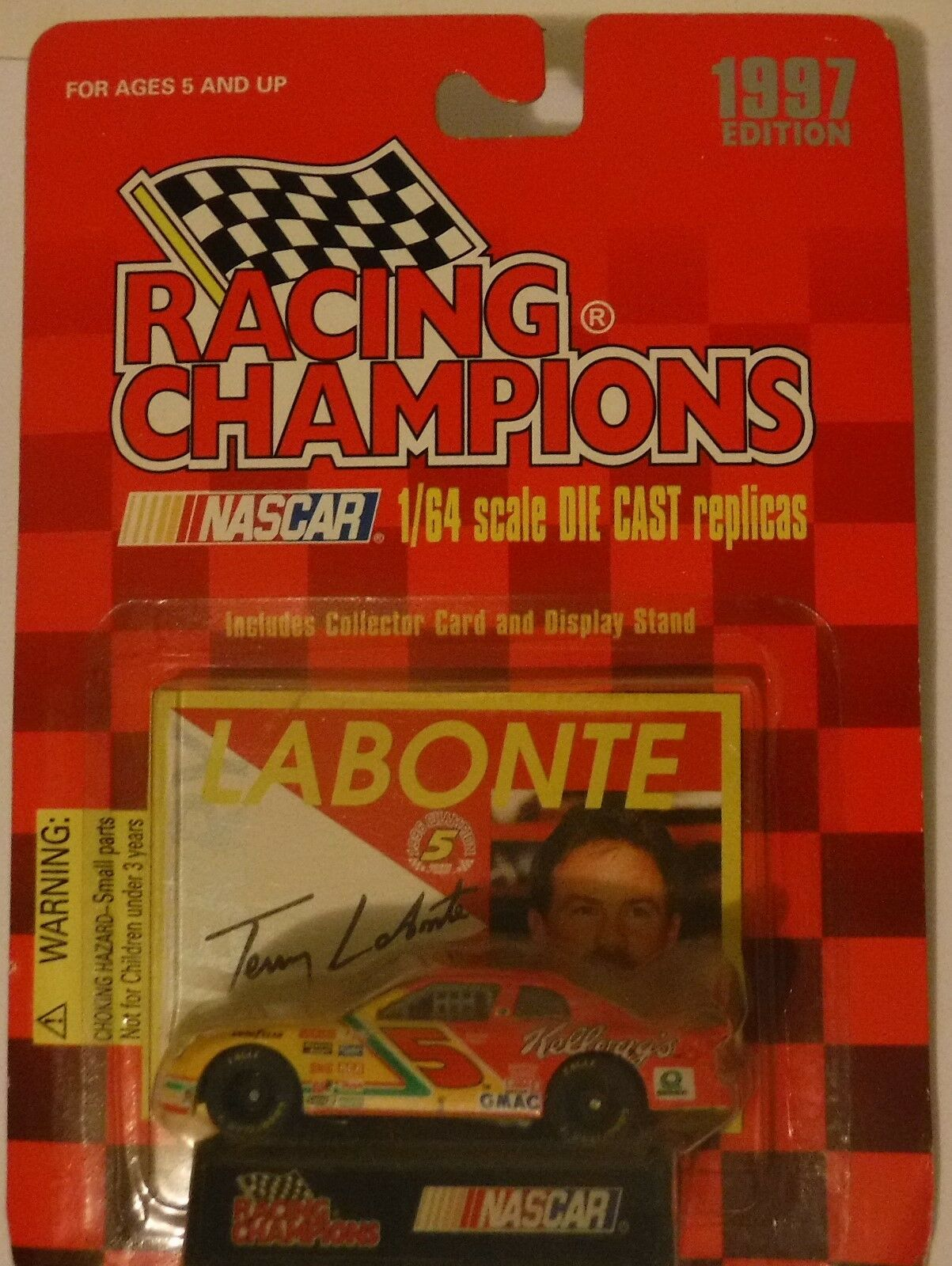 Racing Champions 1997 Edition Terry Labonte 1 64 scale Die Cast Toy car MOC