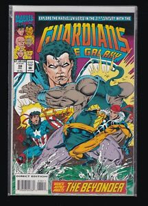C129-Guardians-of-the-Galaxy-38-1990-series-Marvel-comics-VF-NM