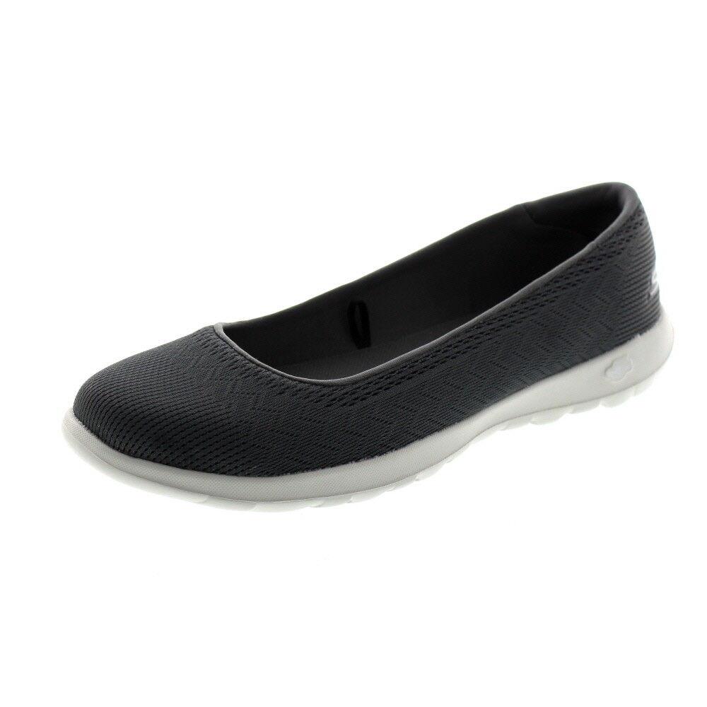 Skechers chaussures-Pantoufles GO WALK LITE Dreamer 15400 Charcoal