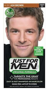 Just for Men Shampoo-in Hair Color, Ash Brown H-20 ...