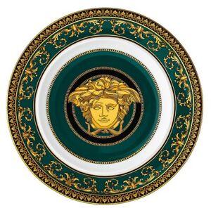 Versace-Rosenthal-Assiette-Plate-18cm-Medusa-Juniper-Versace-Versace-Medusa