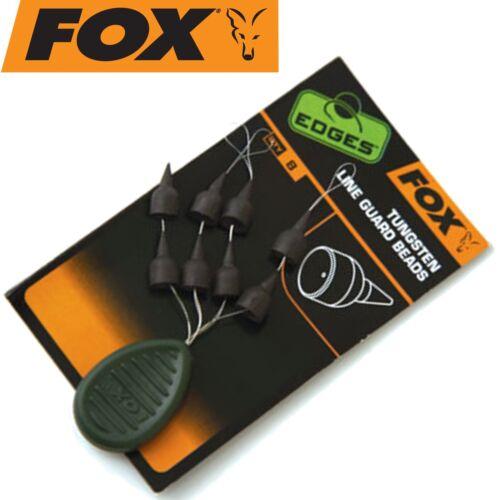 Knotenschutz Fox Edges Tungsten Line Guard Beads 8 Gummiperlen Gummisleeves