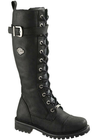 Harley Davidson Women-boots Savannah-Black