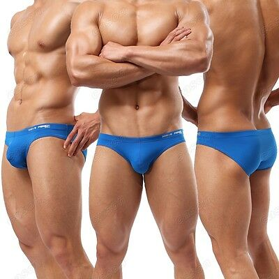 HOT New Arrivals Brand Men's Comfortable Sexy Briefs Underwearr Size S M L BJ29