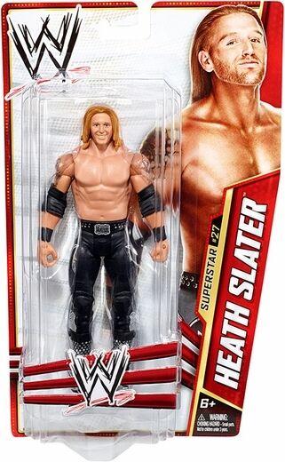 WWE Mattel Basic Series 28 Heath Slater Action Figure