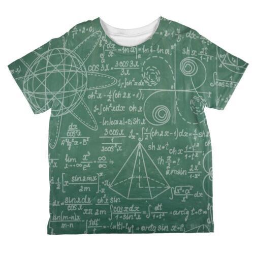 Graduation Math Geek Formulas All Over Toddler T Shirt