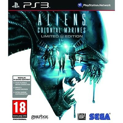 Aliens Colonial Marines Limited Edition PS3 Game Brand New