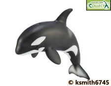 NEW * CollectA NARWHAL solid plastic toy wild zoo sea marine animal WHALE