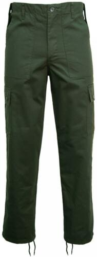 Game Mens Army Military Camo Cargo Multipocket Work TrousersPants