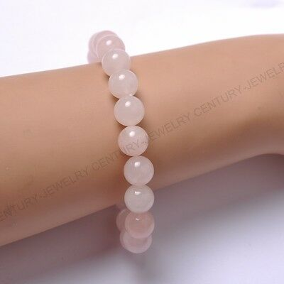 FREE SHIPING 6MM Natural Gemstone Round Beads Stretchy Bracelets