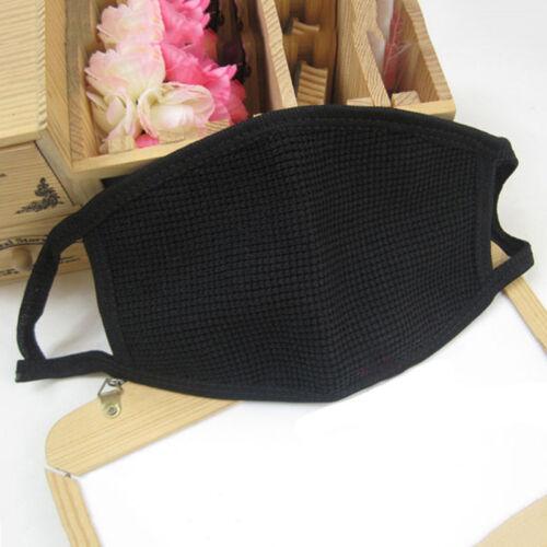 Unisex Black Ski Mask Beanie 3 Hole Warm Full Face Mask Winter Knitted Cap Hat