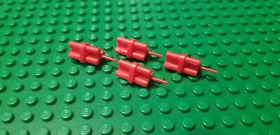 LEGO Parts Minifig Utensil Dynamite Sticks Bundle 64728 Red Lot of 4