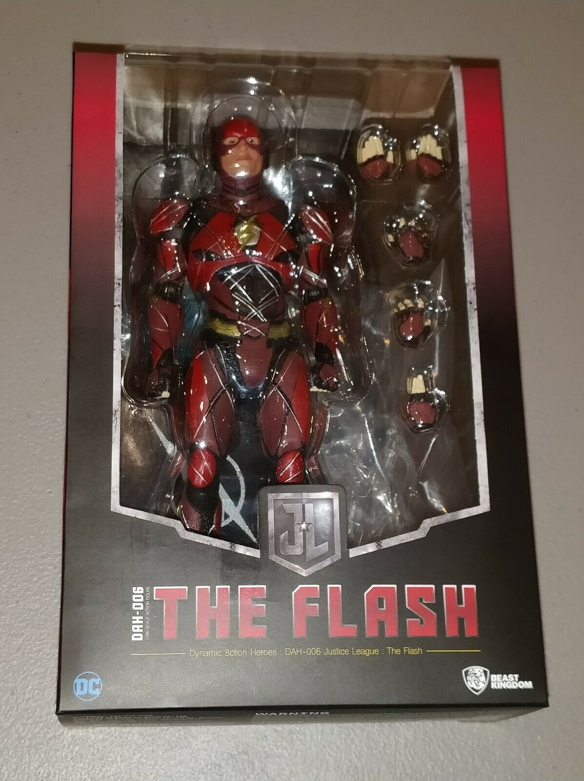 The Flash Dynamic 8ction Heroes DAH006 Justice League