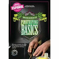 Wizard's Pinstriping Basics Painting Dvd By Airbrush Action, 10 Common Strokes