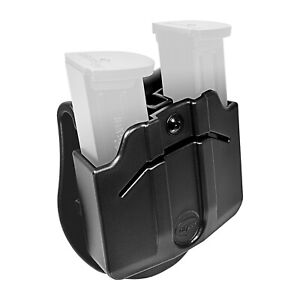 Orpaz-Magazine-Holster-Magazine-Pouch-Paddle-Fits-2x-Double-Stack-METAL-Mag-039-s