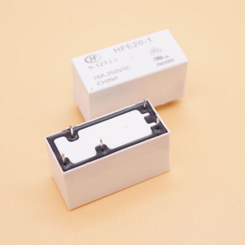 HFE20-1 5-1ZT-L1 16 A 5VDC 5 Broches Relais de puissance 5PCS