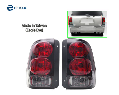 Eagle Eyes Tail Light Fit 2002-2008 Chevy Trailblazer Pair