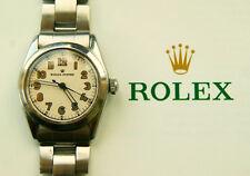 Rolex OYSTER SPEEDKING REF.4220 VINTAGE ELEGANTE LUXUS SAMMLER ARMBANDUHR 1950