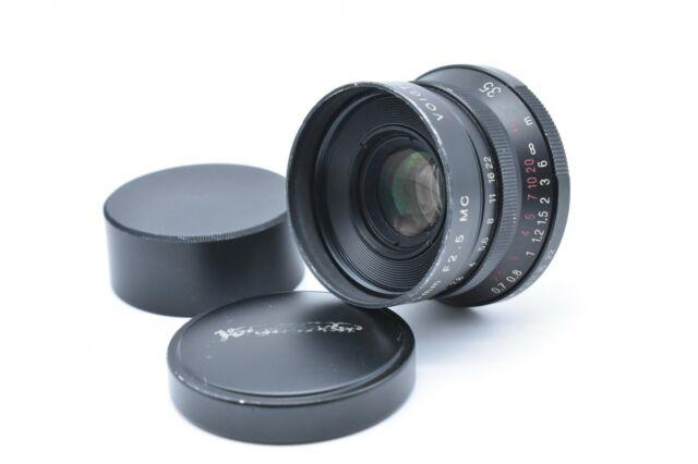[EXC+++++] Voigtlander Color Skopar 35mm f2.5 MC Black Lens for Leica L39 JAPAN