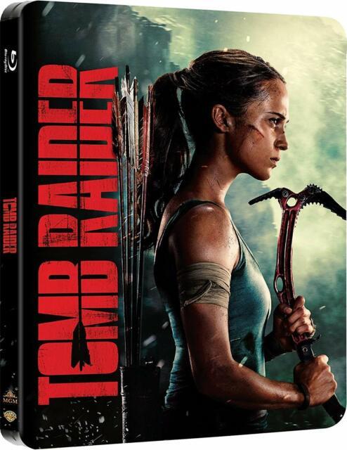 Tomb Raider 2018 Alicia Vikander Blu Ray Dvd Digital For Sale