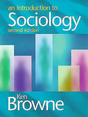 An Introduction to Sociology by Ken Browne (Paperback, 1998)