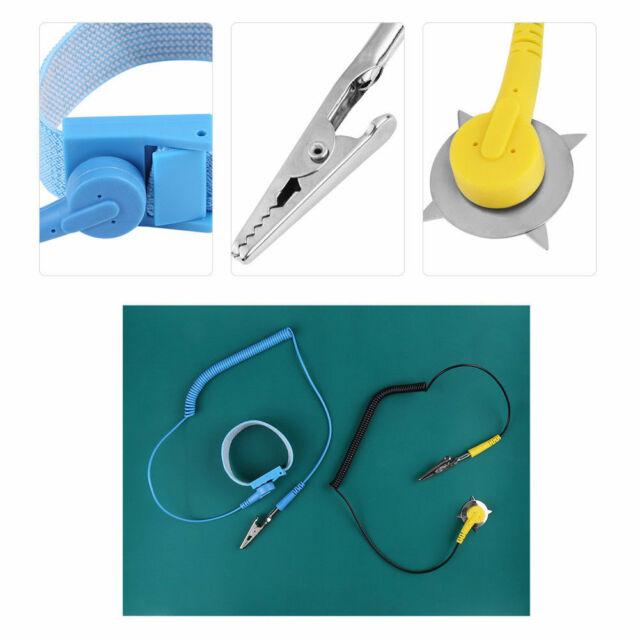Antistatische Erdungsarmband Erdungsmatte Antistatik-Matte Erdungskabel De Neu