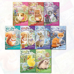 Magic-Animal-Friends-Series-9-Books-Collection-Set-Ellie-Featherbill-All-New