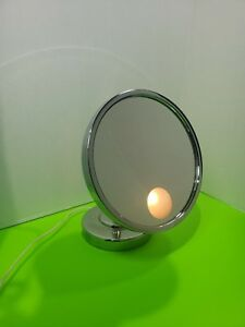 Vintage Conair Lighted Magnified Makeup Mirror Chrome