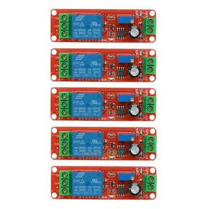 5pcs-DC-12V-Delay-Relay-Shield-NE555-Timer-Switch-Adjustable-Module-0-10-Second