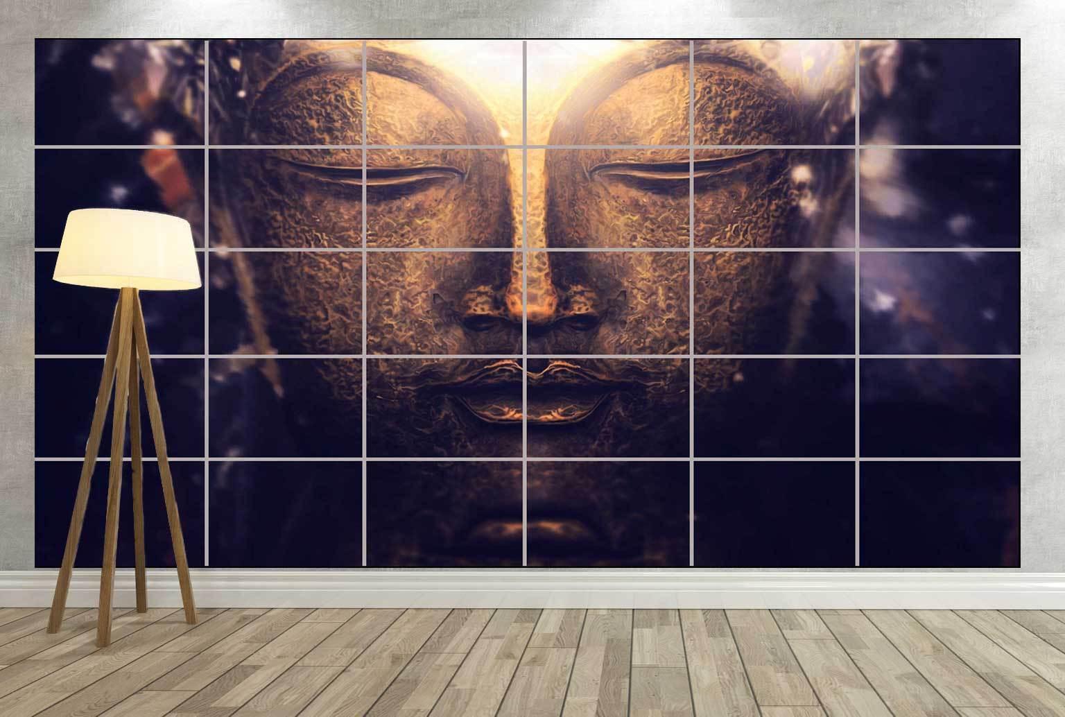 BOUDDHA BUDDHA PEACE Giant Poster Home Deco Salon 252cmX150