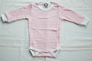 BABY-FULL-SLEEVE-BODYSUIT-0-24m-SHOULDER-POPPERS-100-COTTON-PRISM-PINK-STRIPES