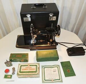 singer sewing machine 221 1 value